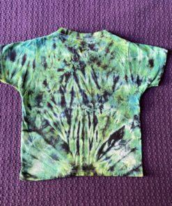 green crunch tie dye t-shirt