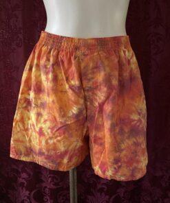 Fire Tie dye Boxers