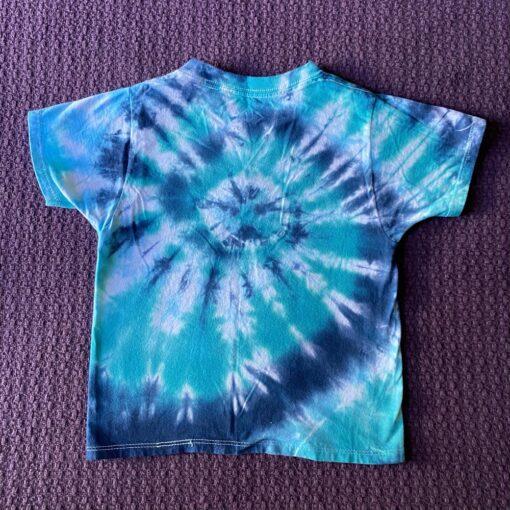 Youth XS Spiral Geode Tie Dye Shirt