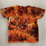 Youth Small Lava Tie Dye Shirt