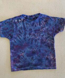 blue crunch tie dye youth XS