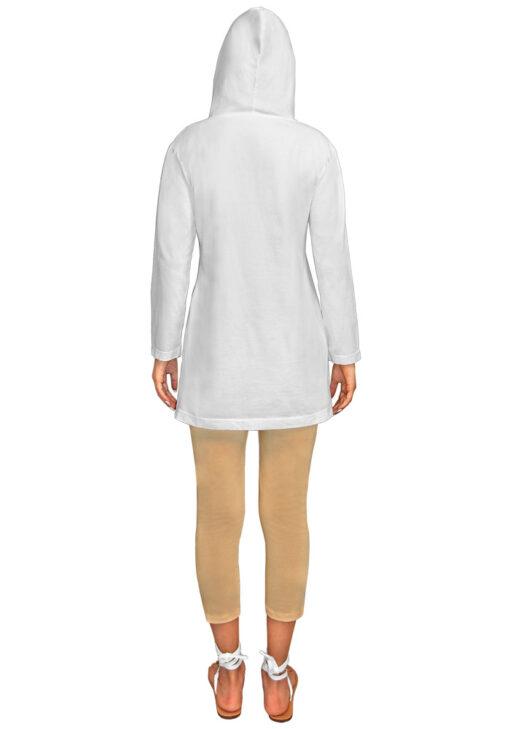 custom tie dye cotton womens hoodie