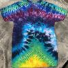 multi color tie dye shirt