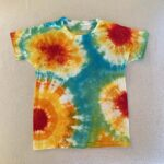 geode tie dye shirt for kids