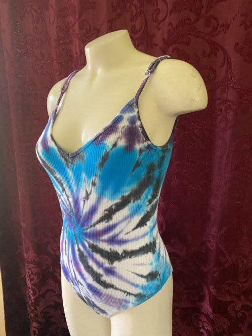 custom tie dye bodysuit