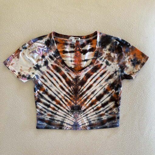 pleat tie dye womens medium