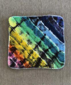 rainbow tie dye cotton cloth rag