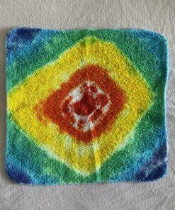 Rainbow Geode Tie Dye Wash Cloth