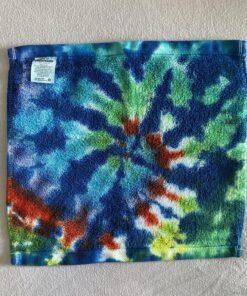 tie dye wash cloth